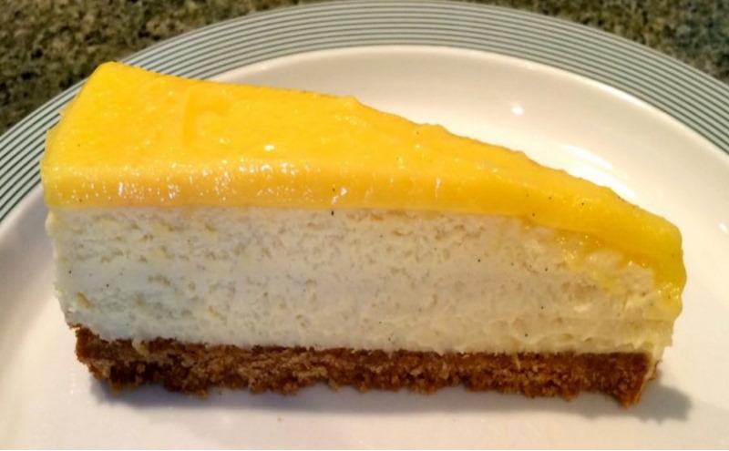 Receta tarta de queso con gelatina de limon