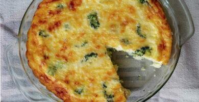 Receta de Tarta de brocoli