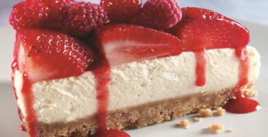 Receta de tarta de queso crema y ricotta