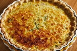 Receta de tarta de choclo y queso