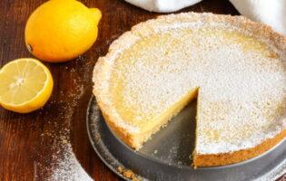 Receta de tarta de limón con leche condensada