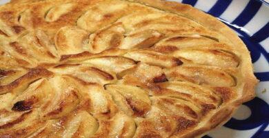Receta tarta de manzana facil