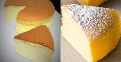 Receta de cheesecake japonés