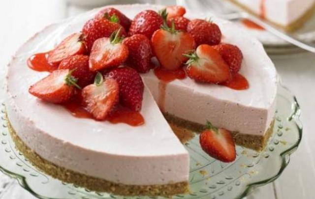 Receta tarta de fresa Thermomix