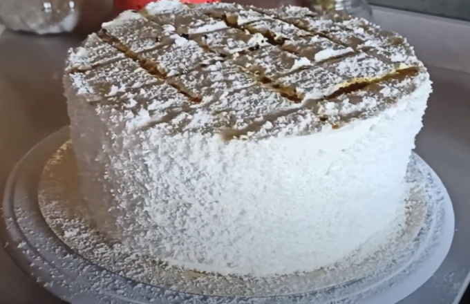 Receta de postre balcarce o torta balcarce