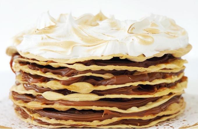 Receta de torta Rogel